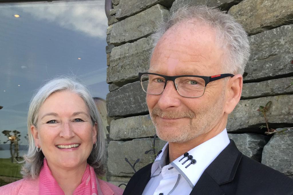 Anne Øen og Tom Jarle Bjørkly